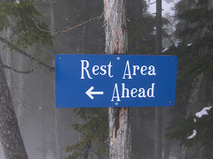"Creative Commons ""Rest Area?"" by Joe Shlabotnik is licensed under CC BY 2.0."