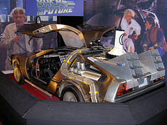 "Creative Commons ""Back to the Future DeLorean Time Machine"" by AdamL212 is licensed under CC BY 2.0."