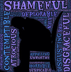 "Creative Commons ""Burdened by shame"" by John Hain is licensed under CC BY 2.0."