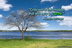 "Creative Commons ""Criticism"" by Celestine Chua is licensed under CC BY 2.0."