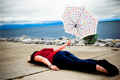 "Creative Commons ""(293/365) Mary Poppins goes to the Beach, Face-Down edition *Explored*"" by Britt-knee is licensed under CC BY-ND 2.0."