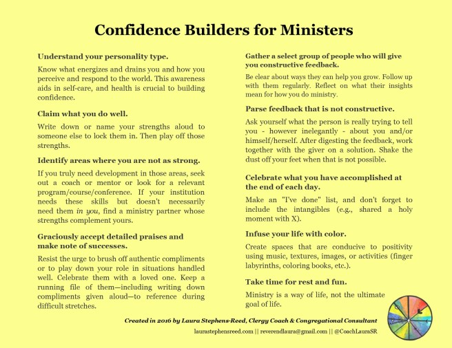 confidence builders